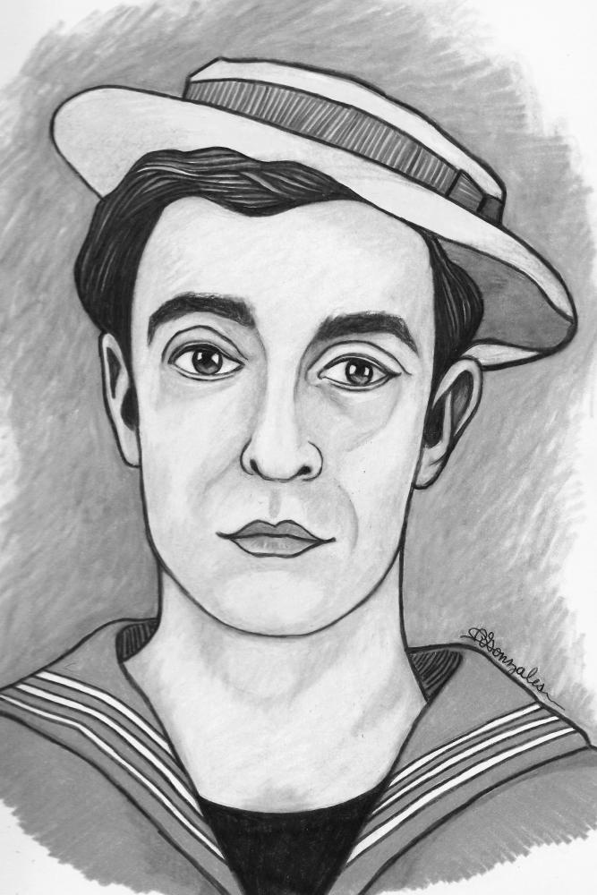 Buster Keaton par aaronmark